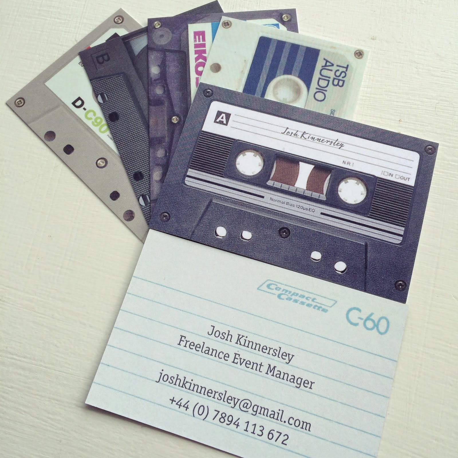 Dont let the days go by new business cards magicingreecefo Image collections