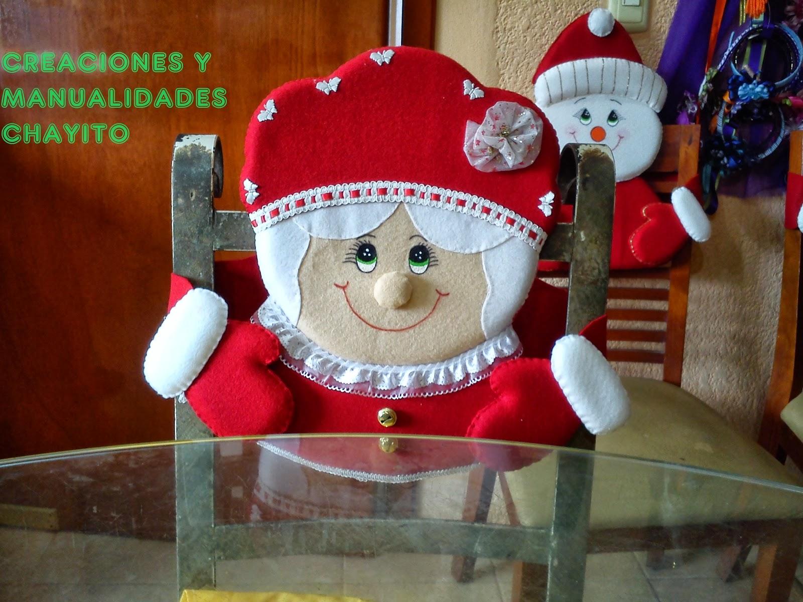 Creaciones y manualidades chayito adornos navide os for Adornos navidenos para regalar