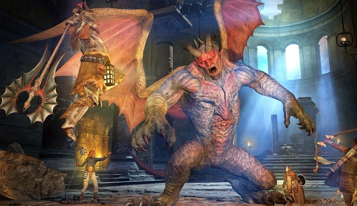 daimon, game review,dragon's dogma