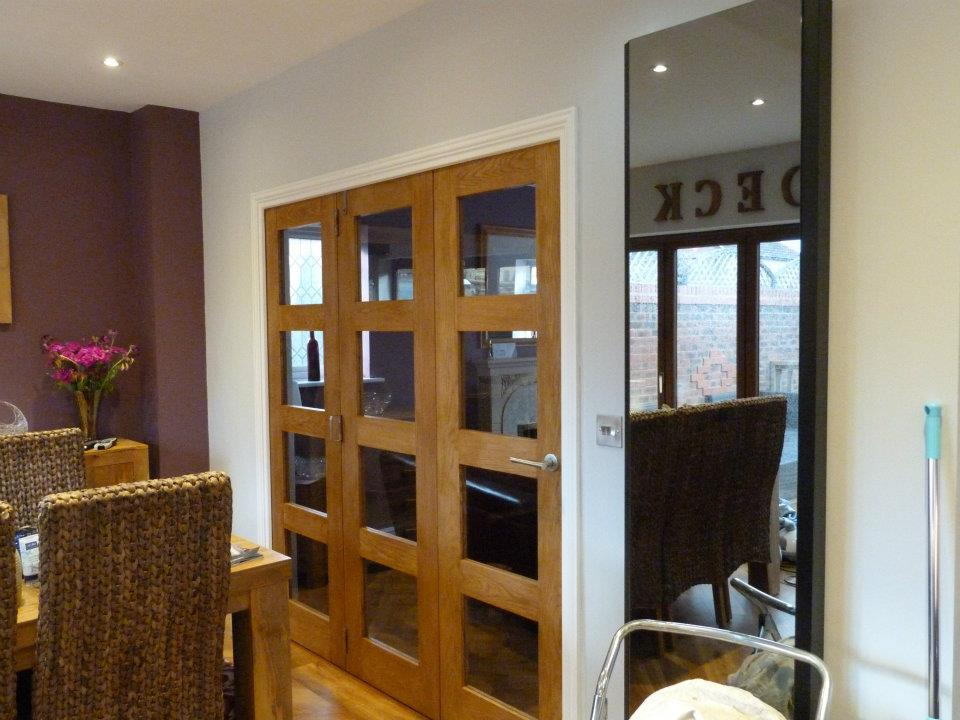 Lynda And Robs Patio Doors Are Directly Opposite A Doorway Leading Into Their Lounge With The Former Dining Room In Between Lyndas Vision Was To Widen
