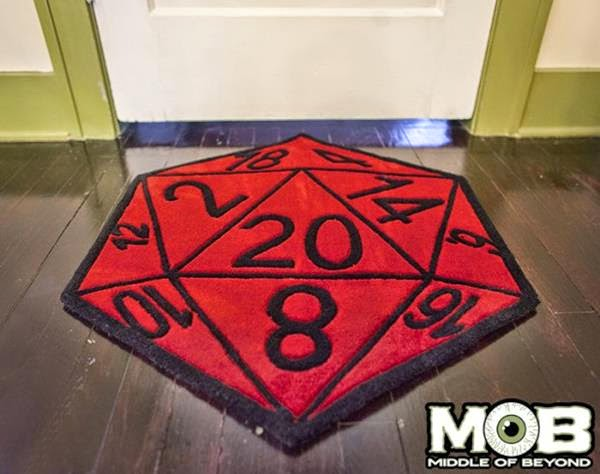 Creative Mountain Games Tech Tuesday D20 Rugs Game Tables