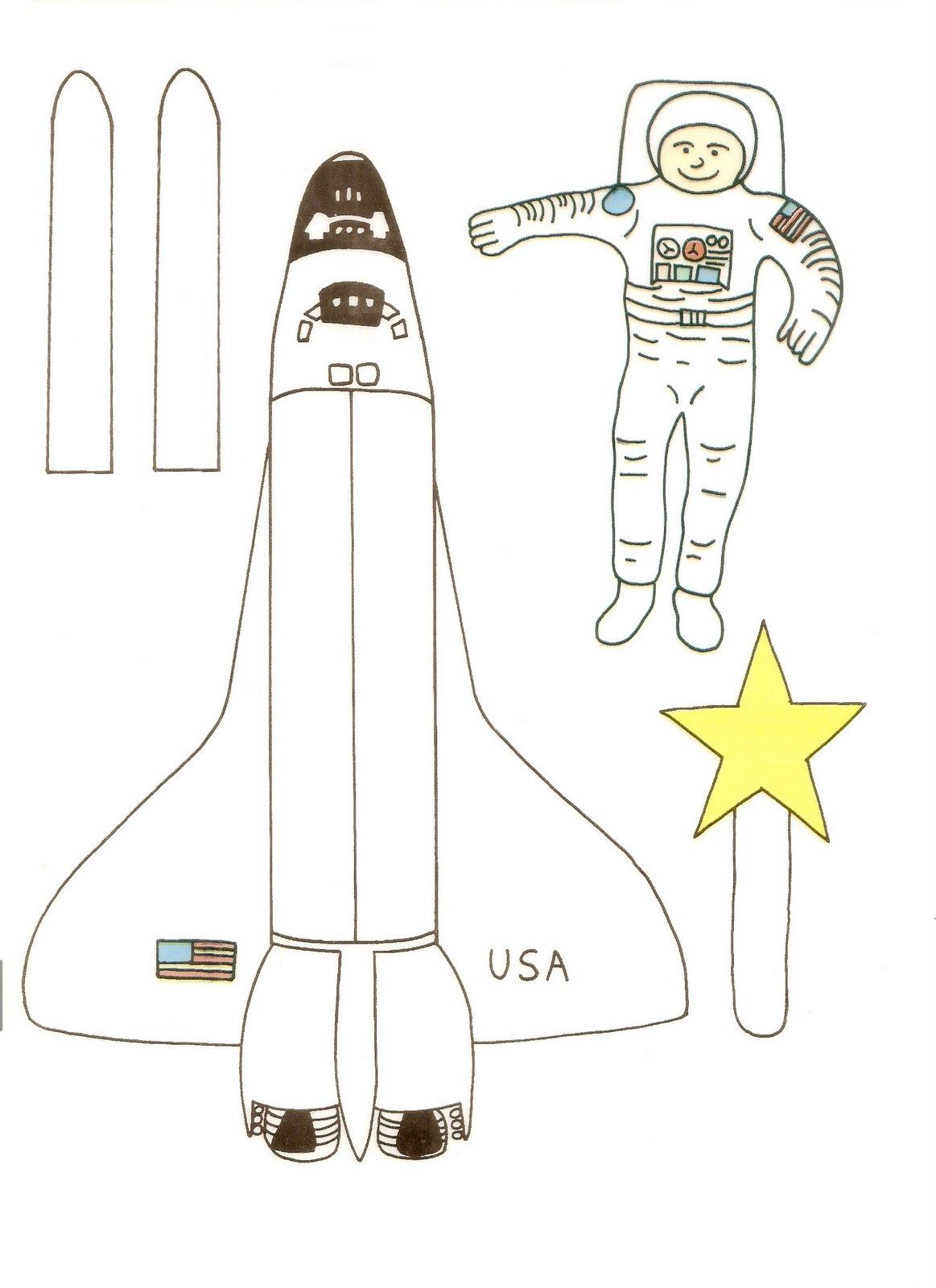 astronaut cut out mouse - photo #13