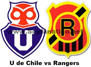 Juega la U de Chile vs Rangers por la Copa Chile 2015