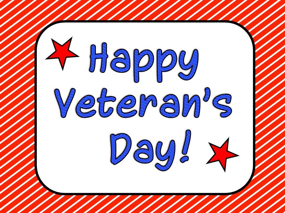 Veterans Day Clip Art Happy veteran's day!