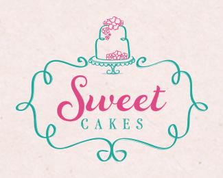 Design Your Own Cake Logo : Let s Share the World of Fantasy: 20 Cake Logo Inspirations