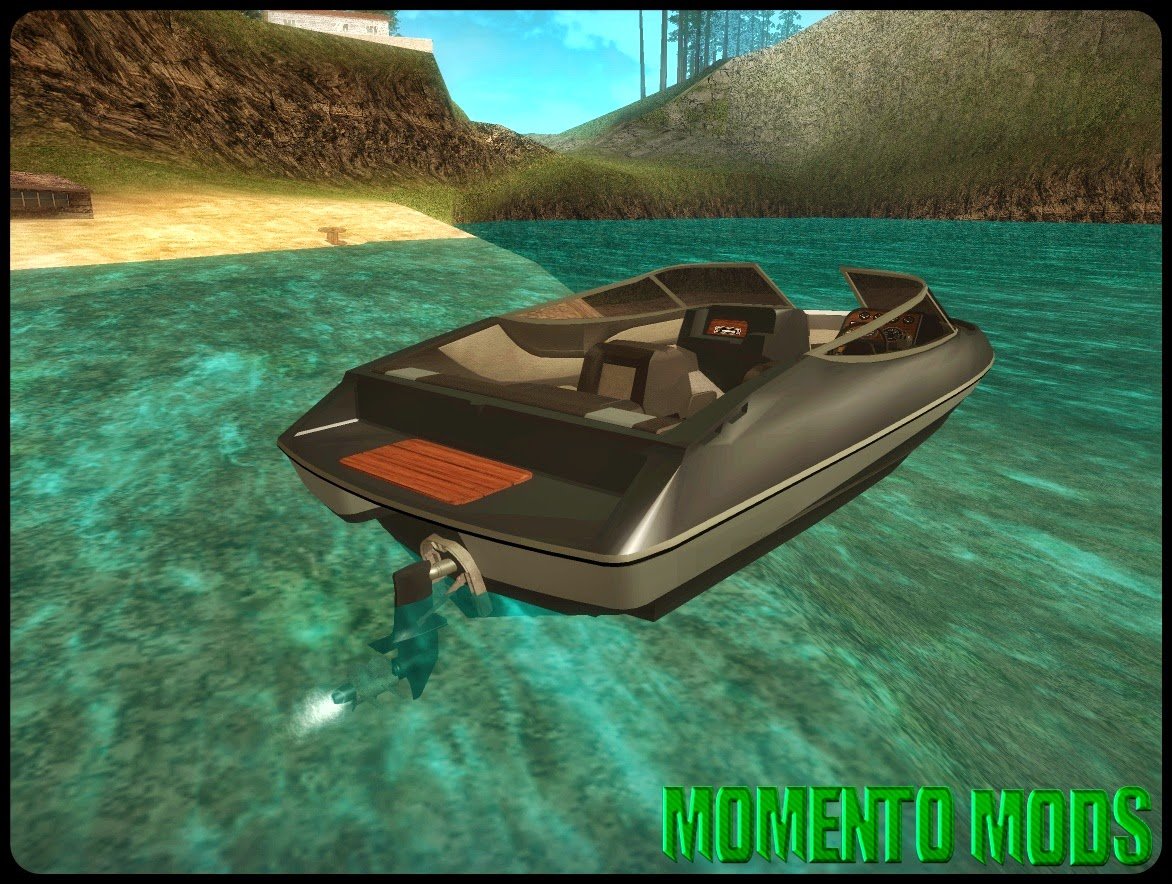 GTA SA - Speed Boat