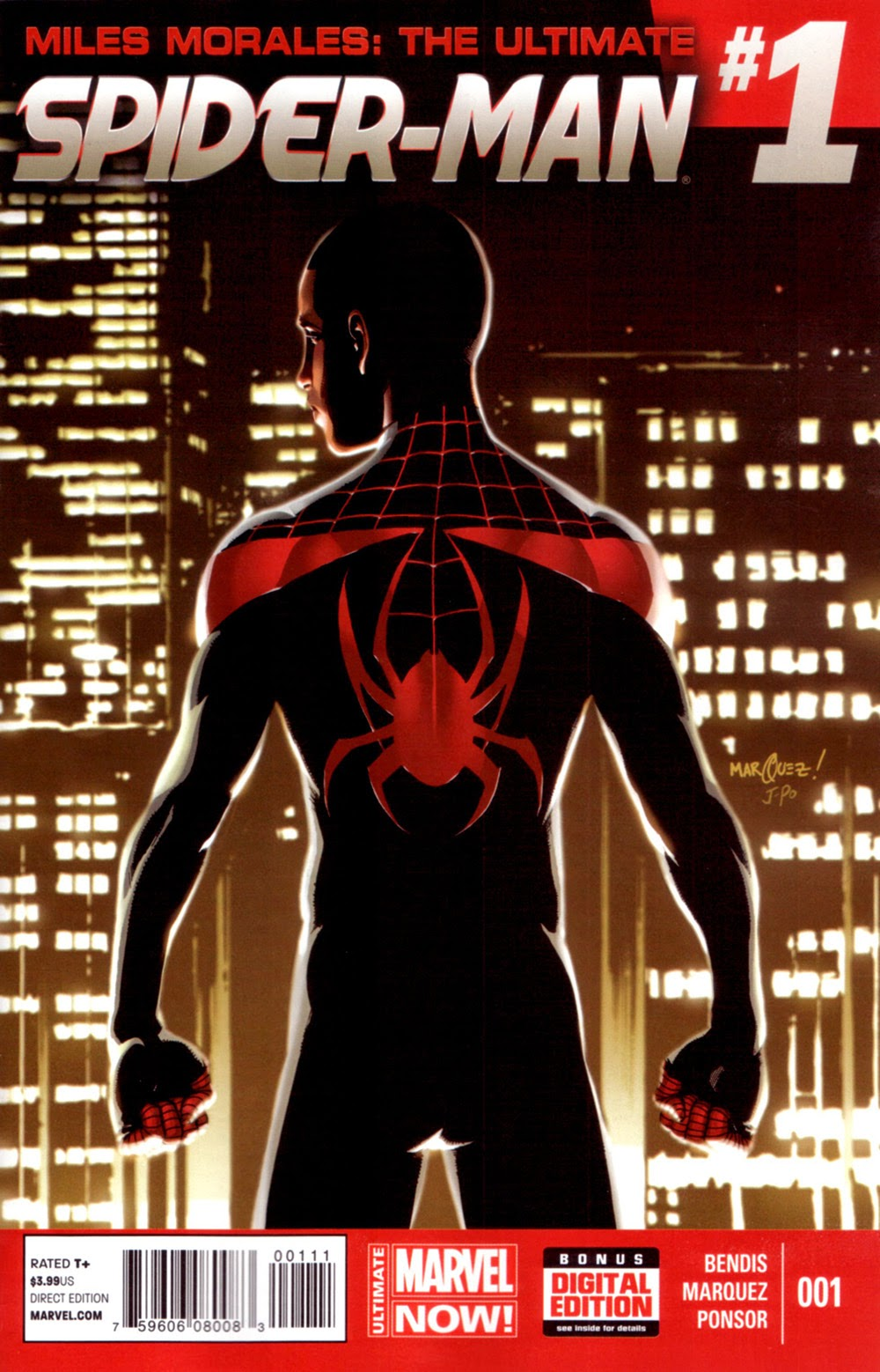 miles morales the ultimate spider man 001 2014 view comic. Black Bedroom Furniture Sets. Home Design Ideas