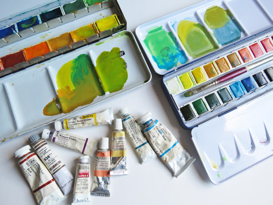 Making A Mark Reviews The Big Watercolour Debate