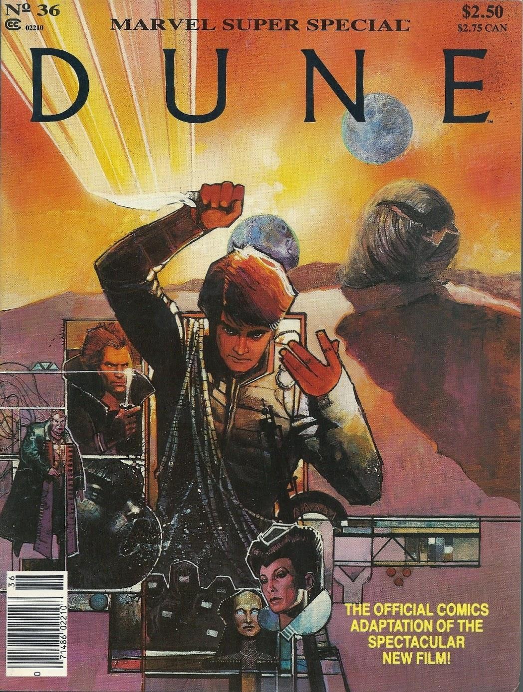 Novela gráfica adaptación Marvel Comics sobre Dune
