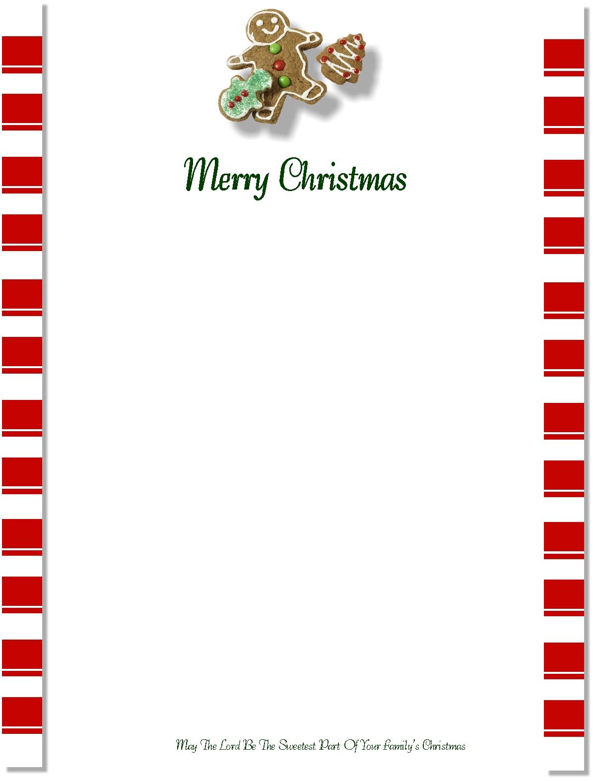 Free printable stationary borders joy studio design gallery best design for Holiday letterheads