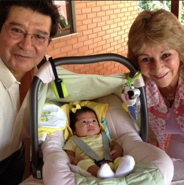 Marcia Chaves Gamboa with sweet baby