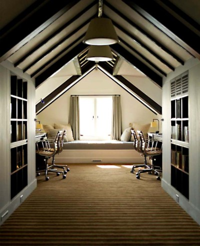 In the meantime, here are some of my favorite attic bedroom spaces for  inspiration. So simple, yet so cozy. Your guests may never leave.