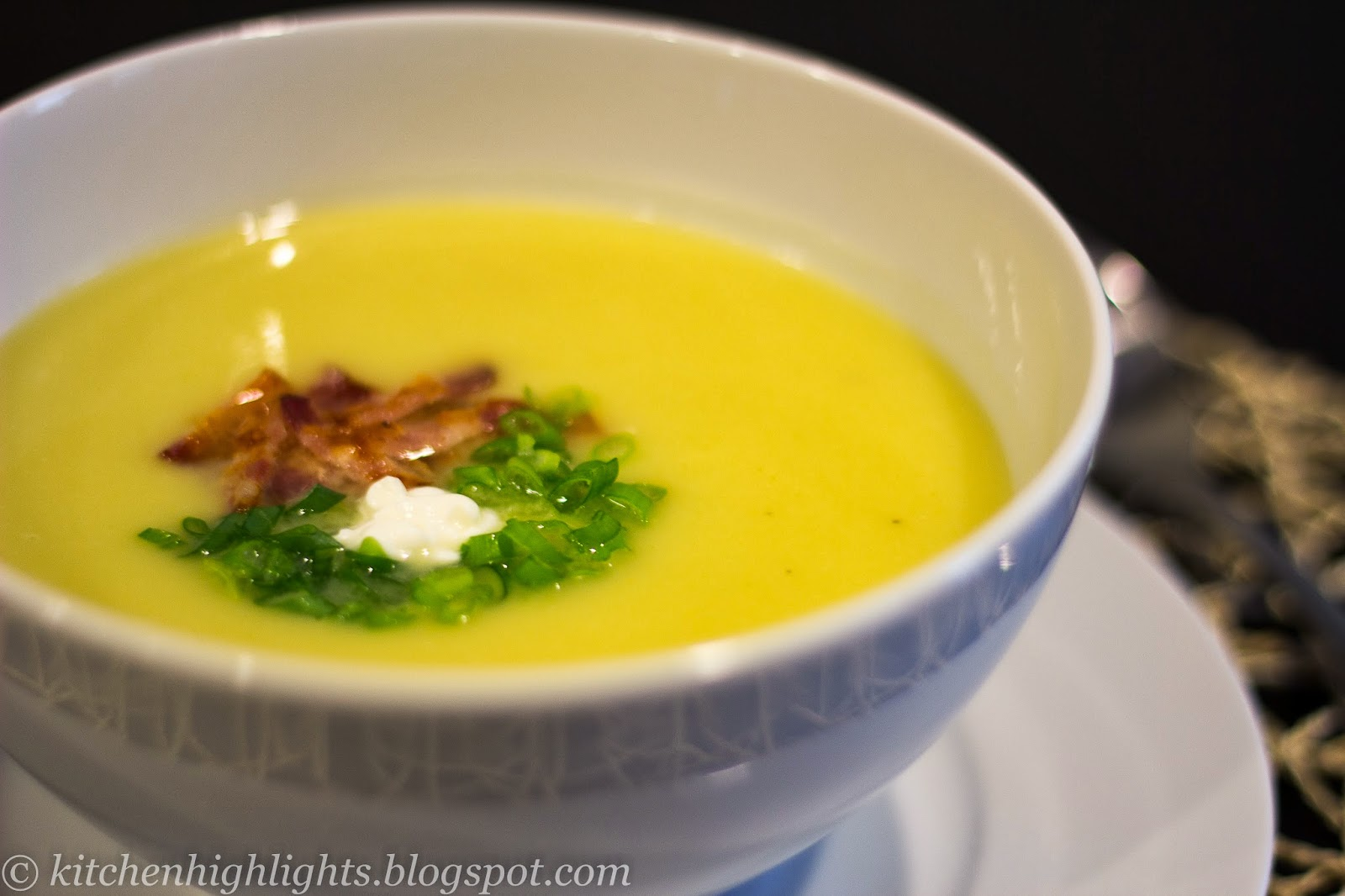 Prepare this light soup for a dinner party with friends or for comfortable night at home.