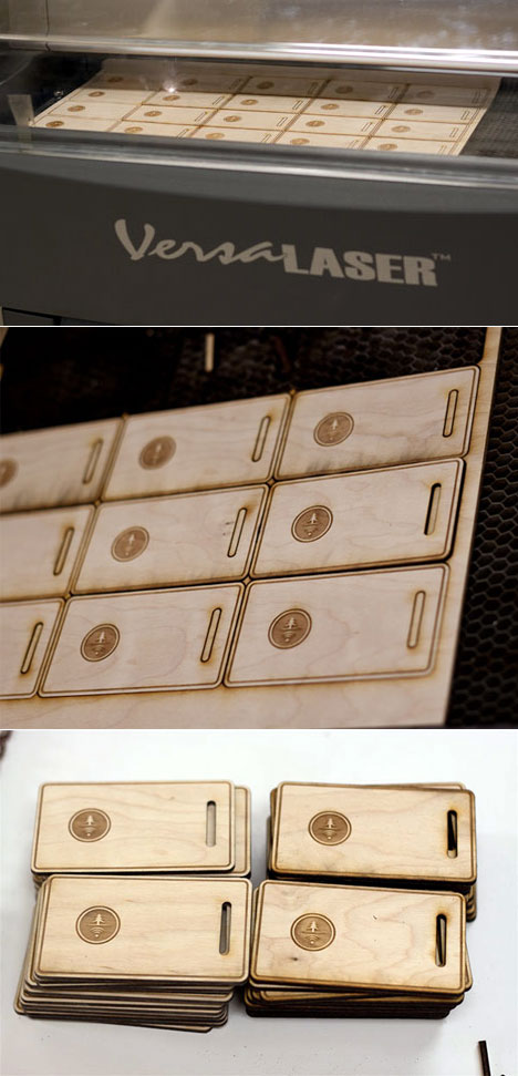 Las tarjetas de presentación de madera no son solo para los negocios
