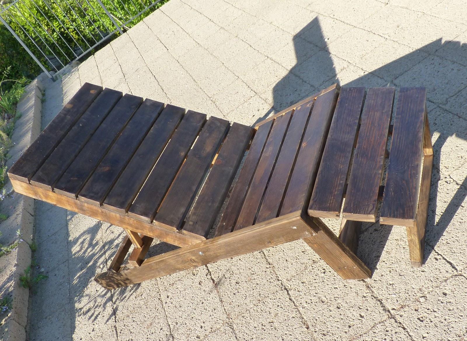 Le mie idee creative sdraia in legno massello