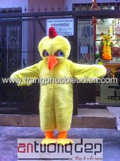 may bán mascot con gà