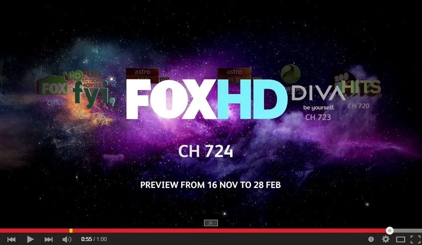 Siaran Astro HD percuma