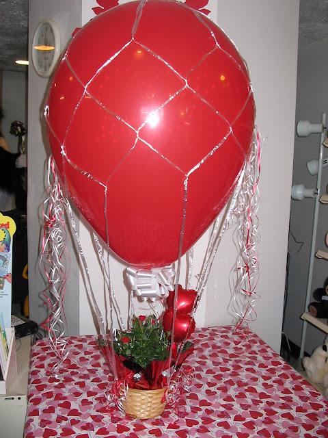 Baby Shower Zilla ~ Balloon zilla pic hot air gifts