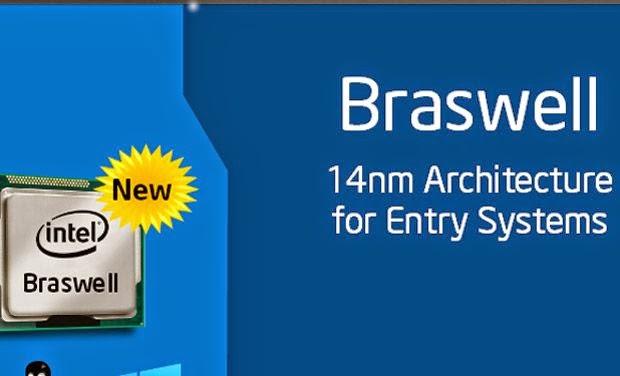 Intel meluncurkan Braswell: SoC khusus untuk perangkat mobile