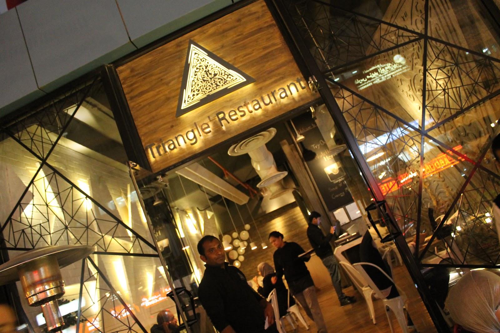 Iyaa triangle restaurant gers night
