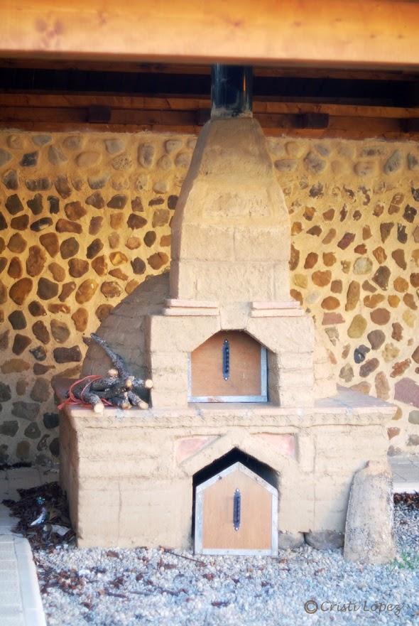 horno de adobe