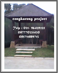 GAZEBO DAN TAMAN MINIMALIS
