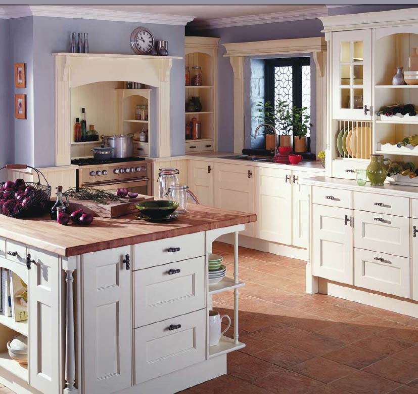 Decorating Kitchens Simple Of English Country Style Kitchen Image
