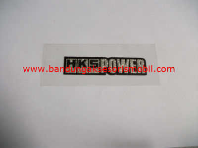Emblem Metalic Small HKS Power