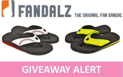 Fandalz - the Original Fan Sandals