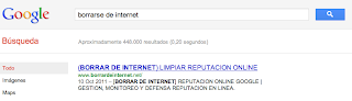 borrarse de internet