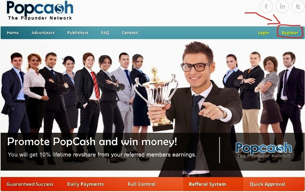 Cara Menghasilkan Uang Dari Blog Menggunakan Popcash