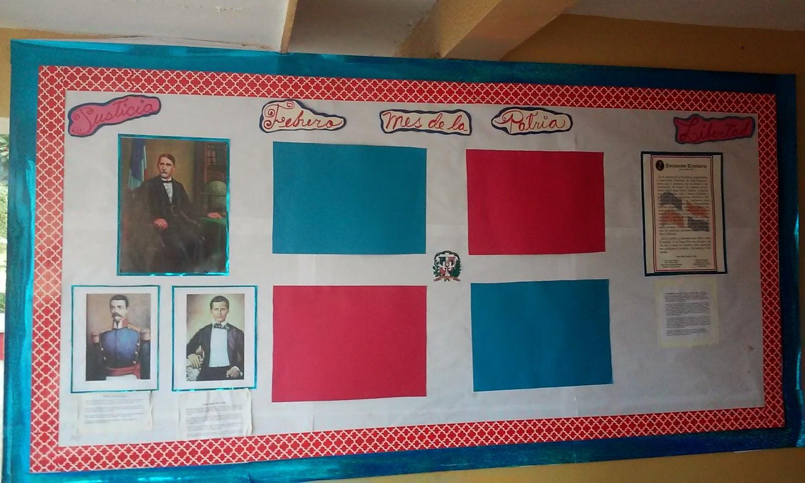 Mural de nuestra escuela primaria fray ram n pane for Decoracion del hogar republica dominicana