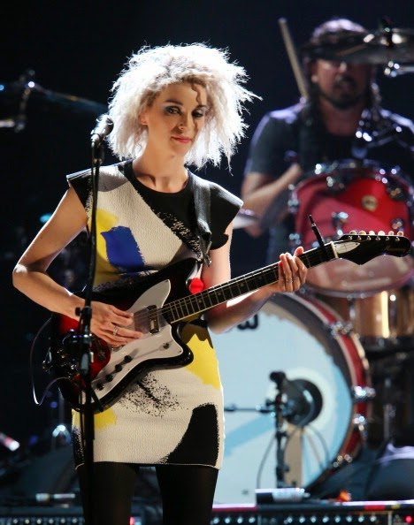 Spotted: Annie Clark Of St Vincent In Céline Ready To Wear '14