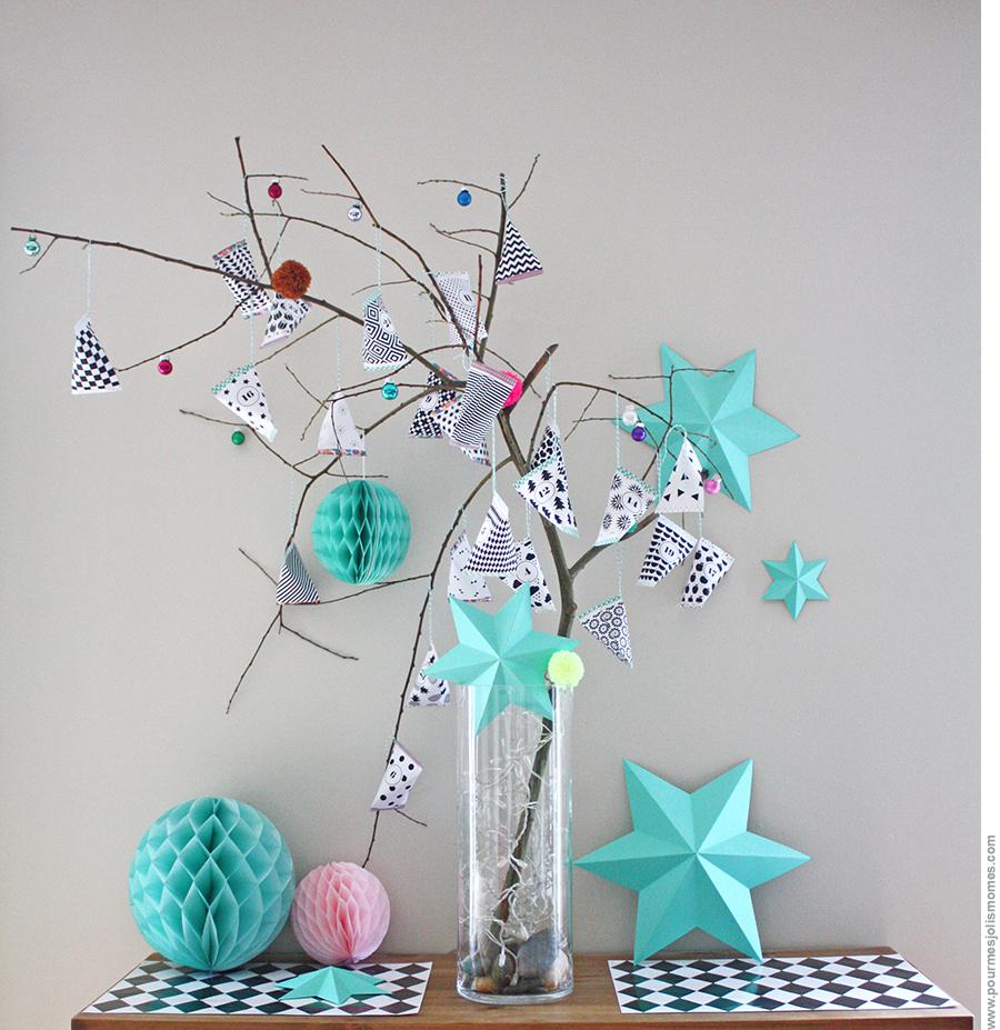 L 39 arbre berlingots calendrier de l 39 avent diy pour mes jolis m mes mais pas que - Arbre de l avent ...