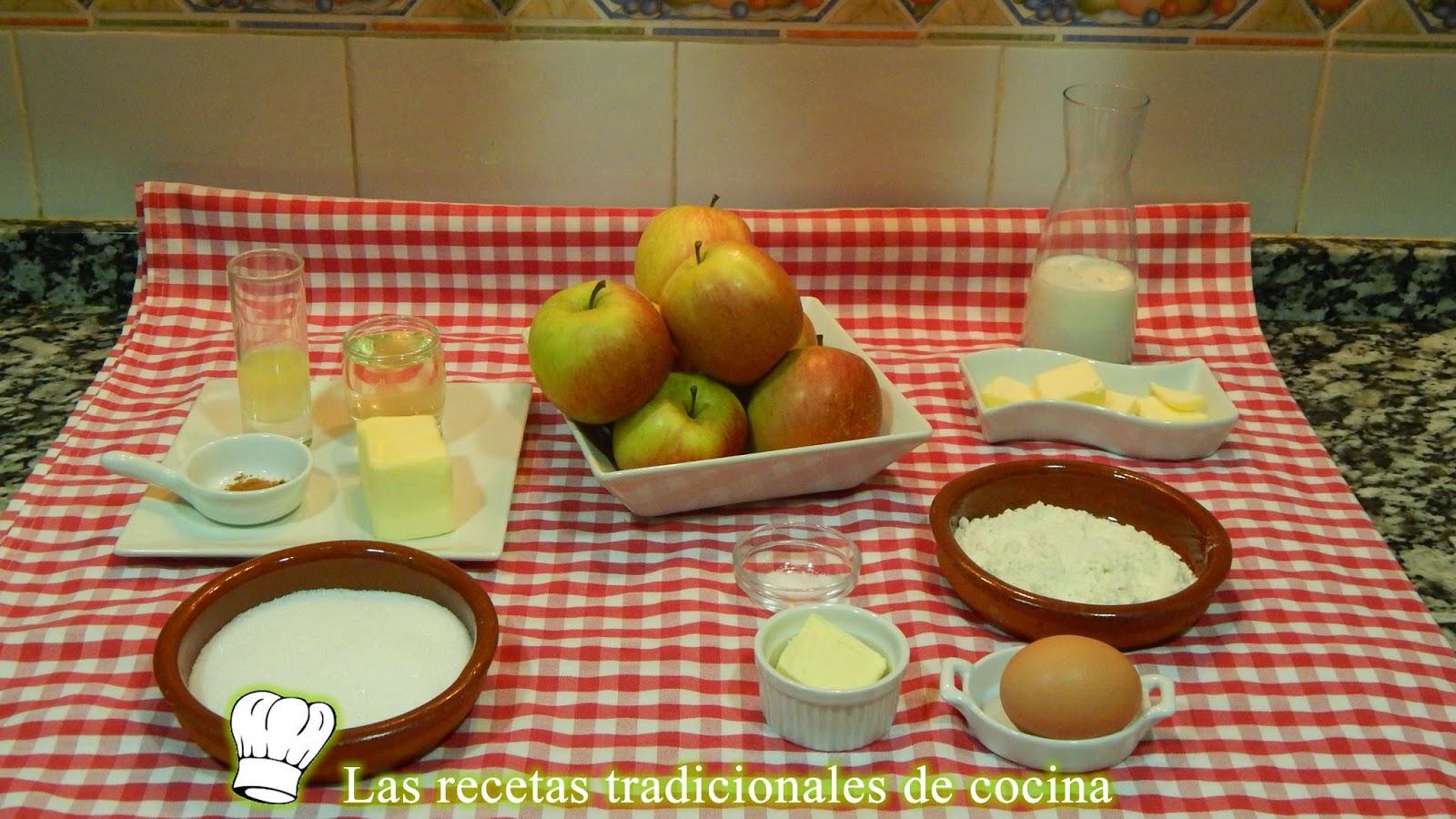 Receta de crepes rellenos de manzana