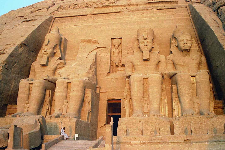Abu Simbel templet, Egypten