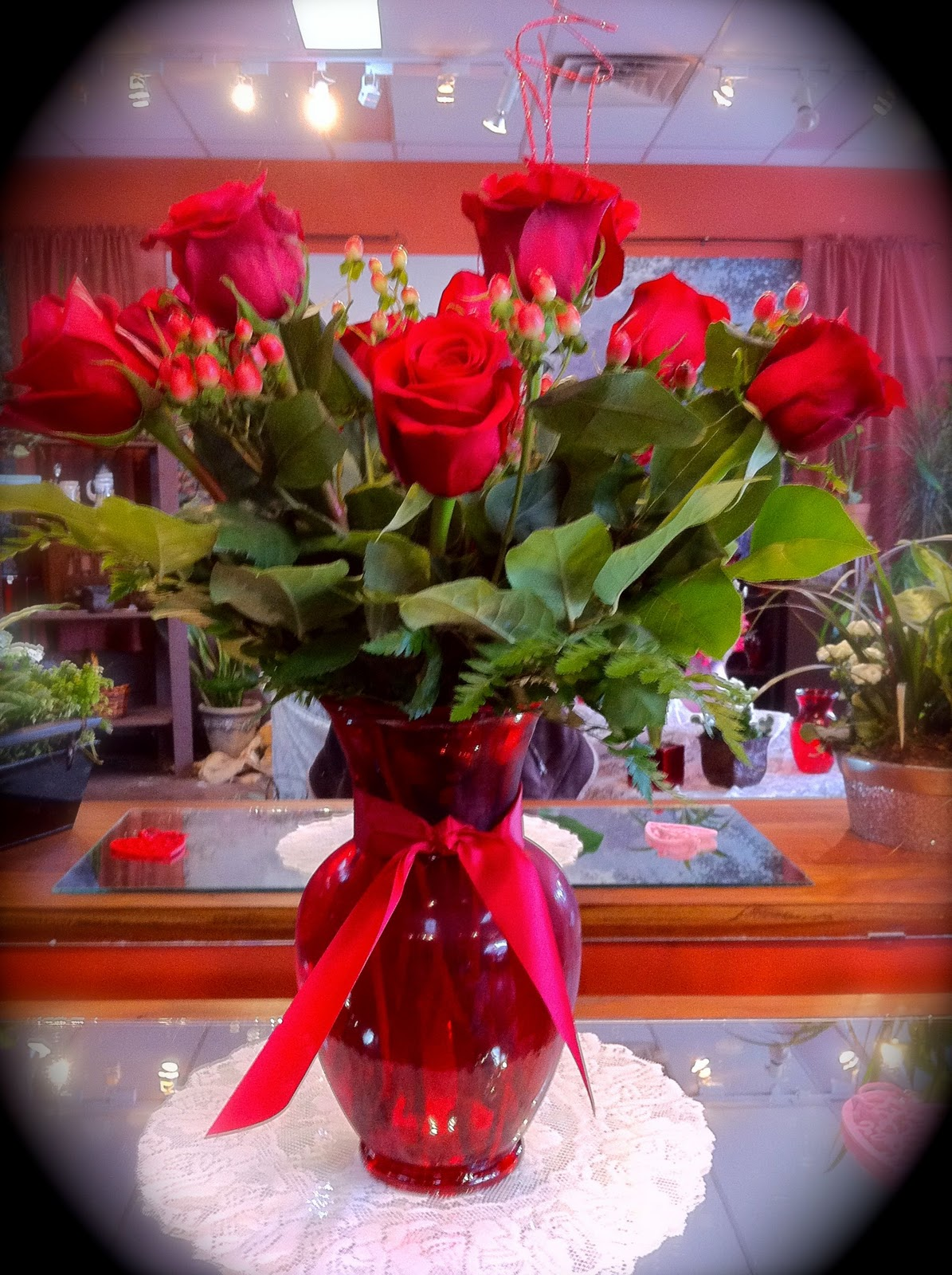 Valentines Day Bouquets Beautiful Red Roses Free Wallpaper Downloads