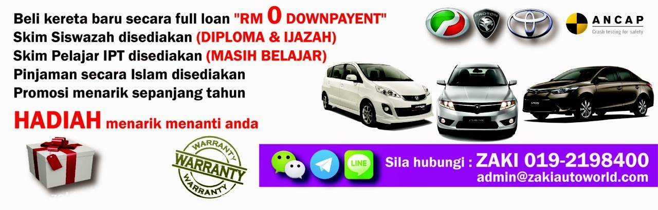 Promosi Proton, Perodua & Toyota Terbaik 2014