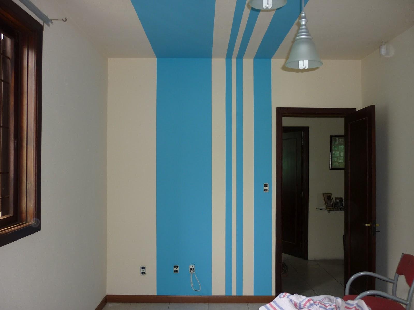 Esc pinturas rio grande pintura com efeito listras na - Pintura de pared ...