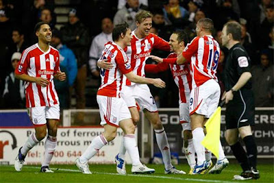 Stoke City 2 - 1 Tottenham (3)