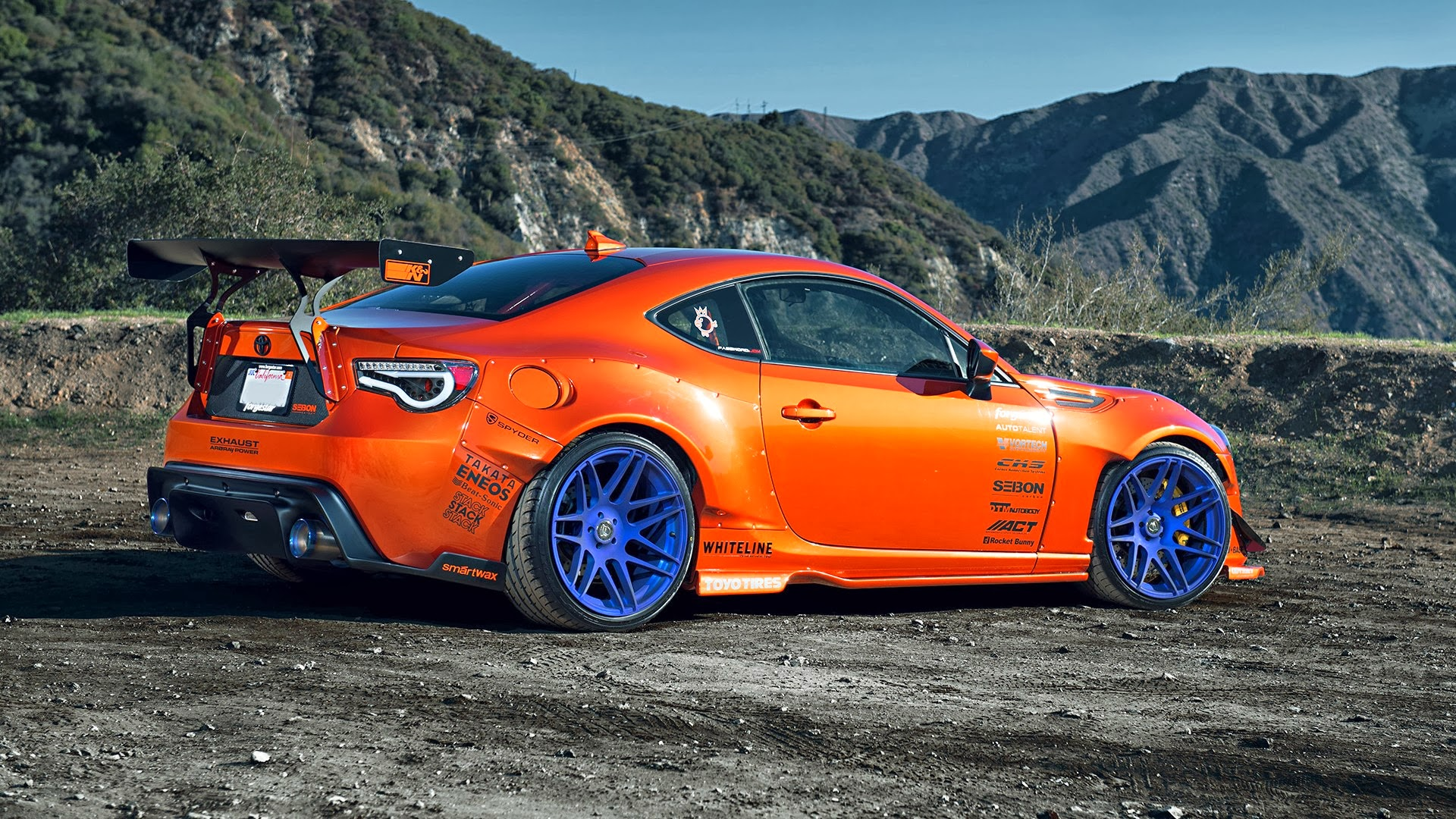 Toyota GT86 Car Tuning