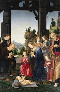 Adoration of the Shepherds Lorenzo di Credi