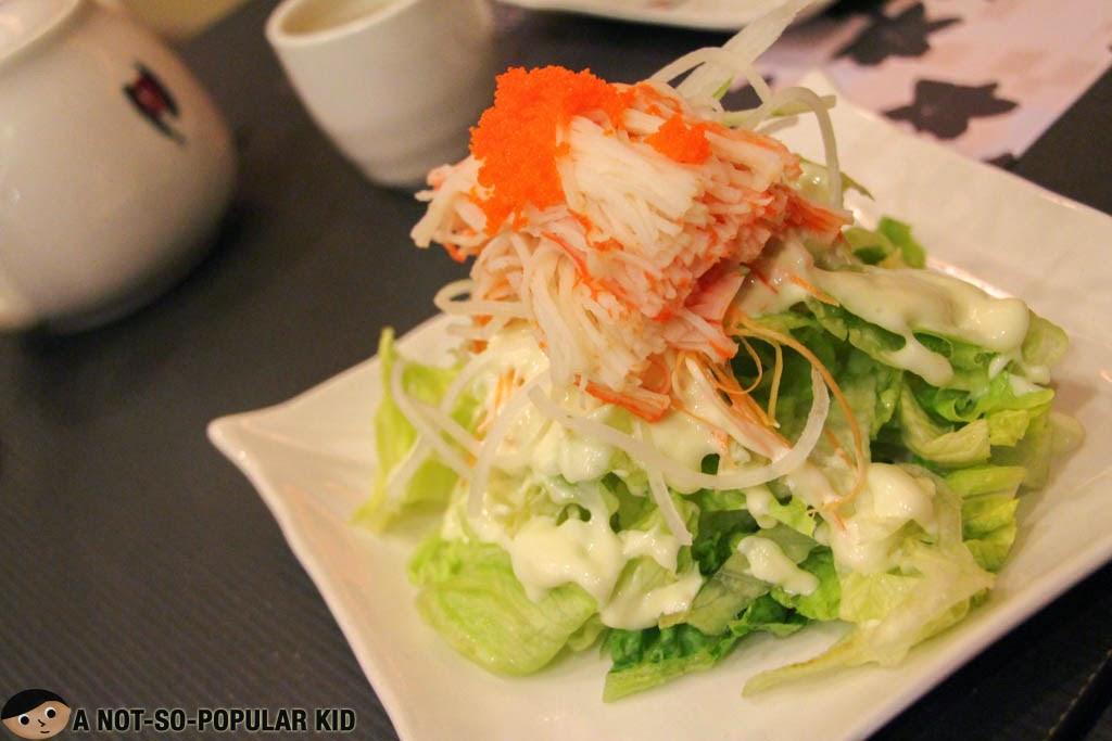 Kani Salad of Kimono Ken