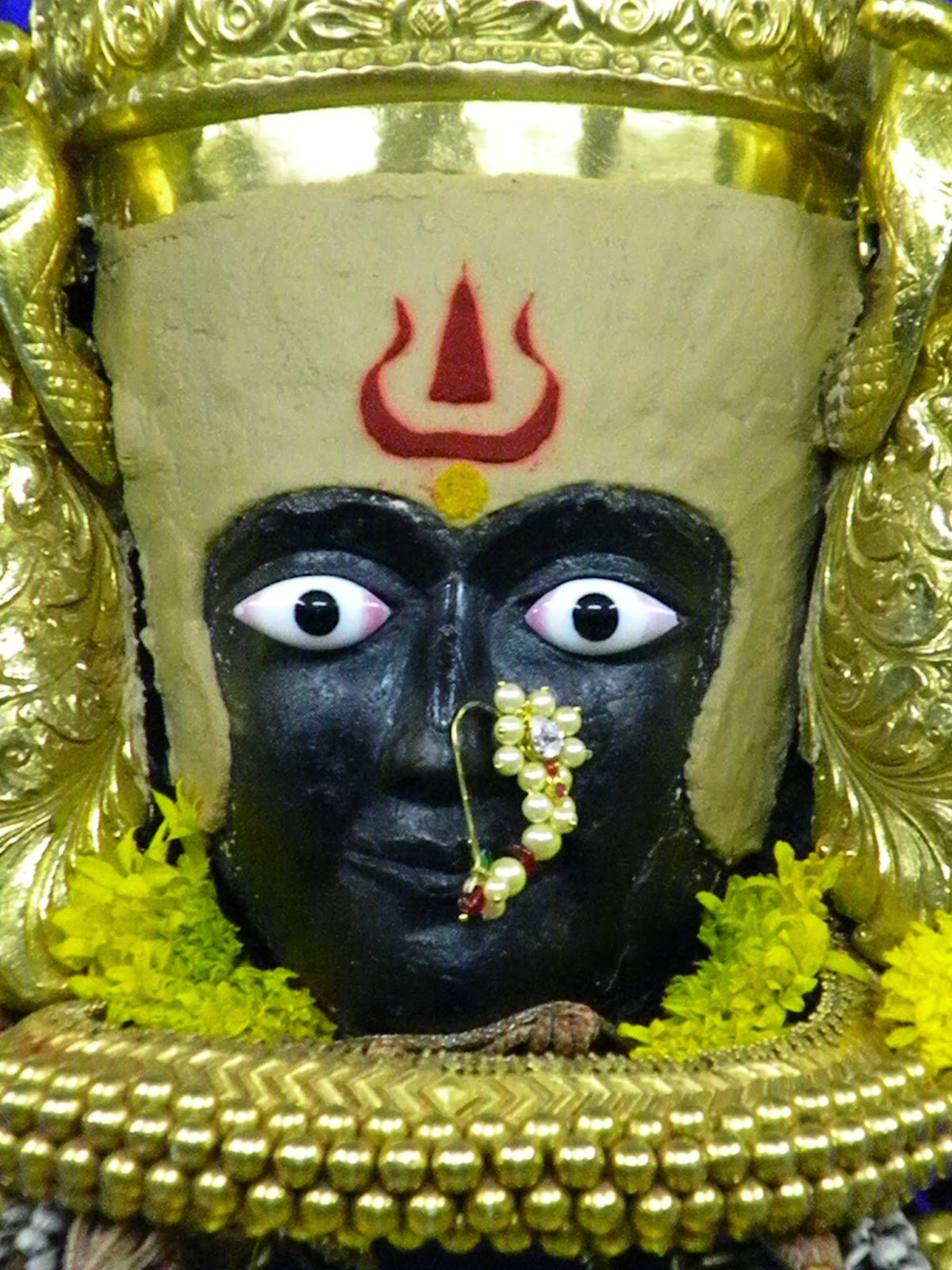 God Photos: Goddess Mahalaxmi Mata Kolhapur Beautiful Image Gallery ...