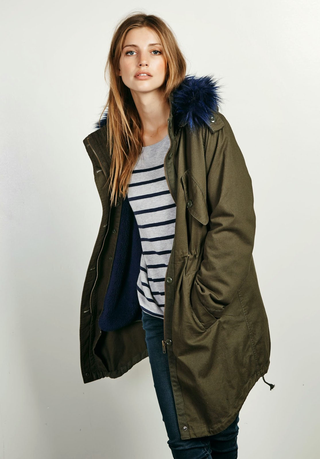 hush fur parka coat