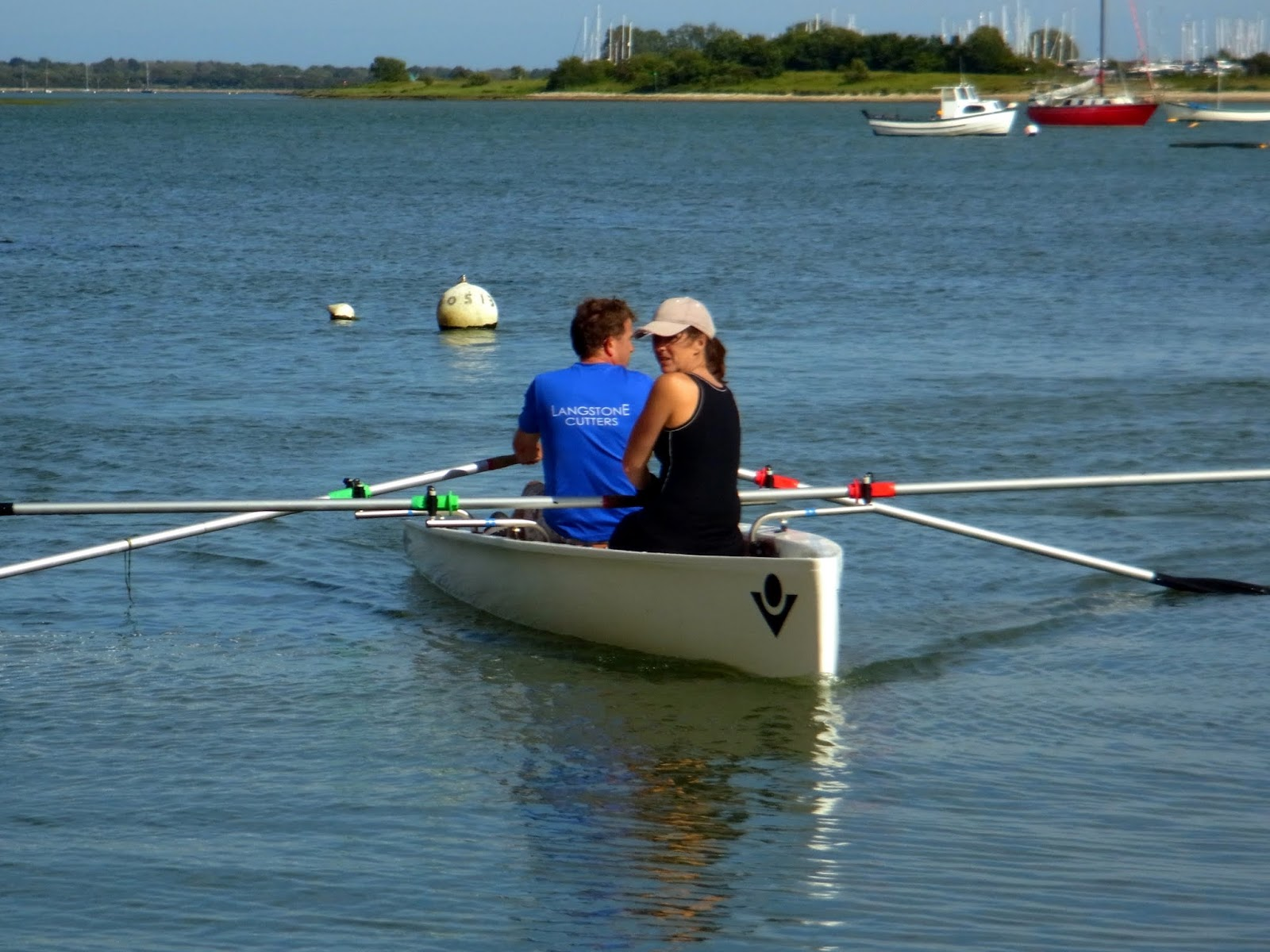ROWING FOR PLEASURE: Virus Yole