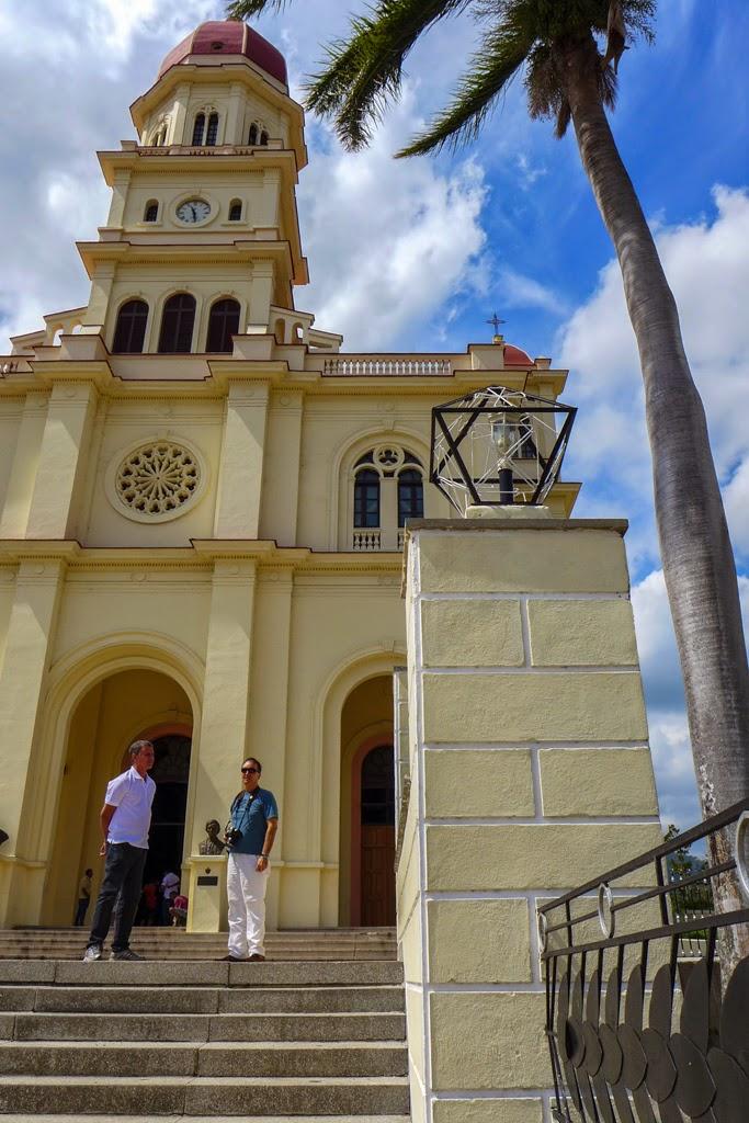 Cuba, El Cobre on the steps