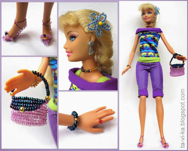Как делать украшения для кукол