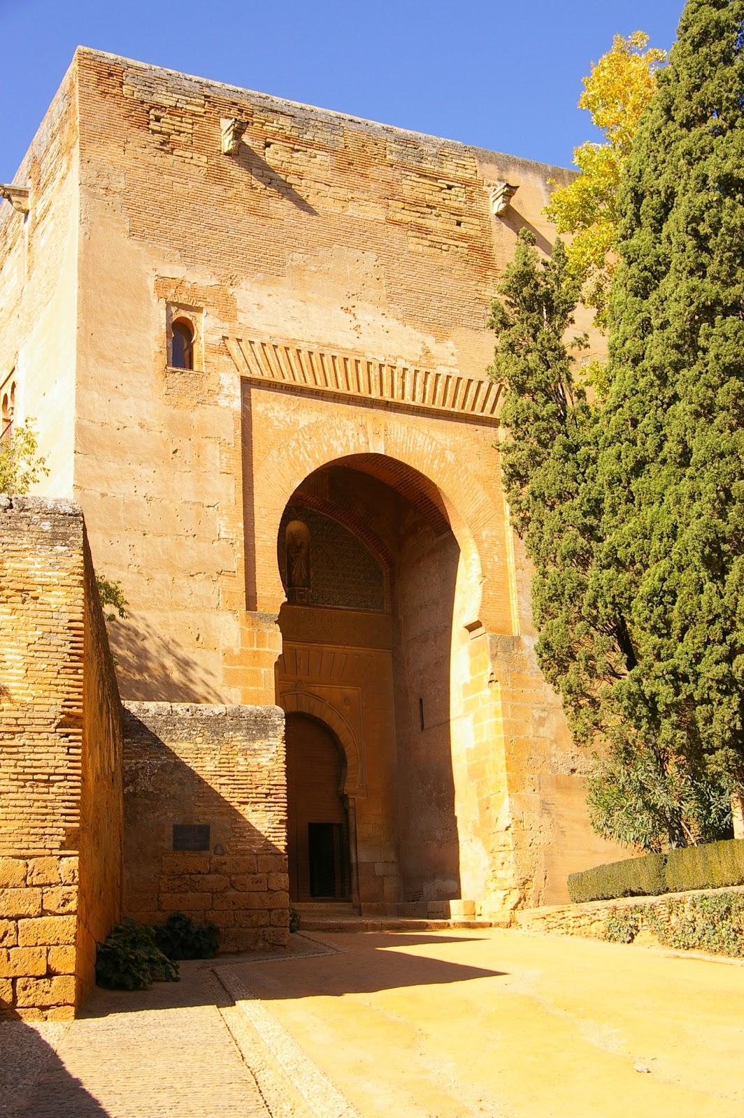 Instantes de una vida la alhambra puerta de la justicia - Portes en granada ...