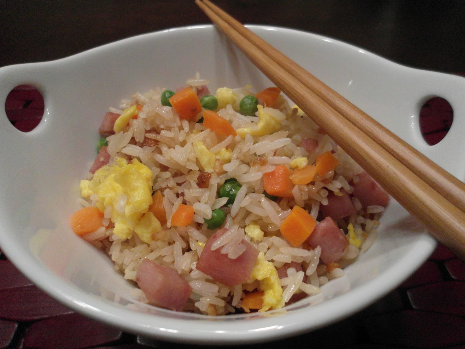 how to make spam and rice